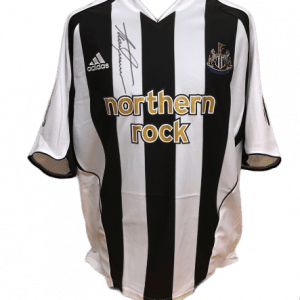 Alan Shearer Signed 2005/06 Newcastle United Shirt