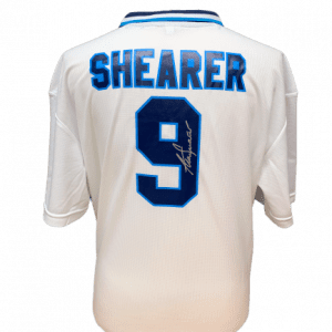 Alan Shearer Signed England Euro 96 Shirt