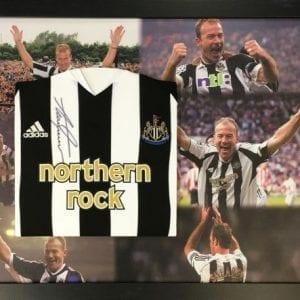 Alan Shearer Signed 2005/06 Newcastle United Shirt Framed
