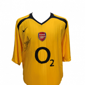 Thierry Henry Signed Arsenal 2005/06 Away Shirt