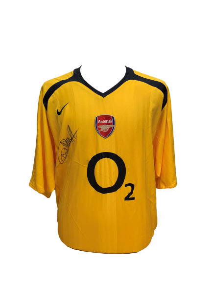 sale retailer 66ed6 e373d Thierry Henry Signed Arsenal 2005/06 Away Shirt