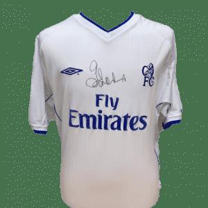 Gianfranco Zola Signed Chelsea 2002/03 Shirt