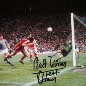 Trevor Francis Signed 1979 European Cup Final Photo