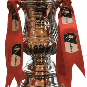 Ryan Giggs Signed Replica Mini FA Cup Trophy