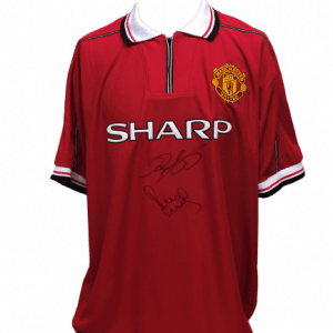 Giggs & Scholes Signed United 1999 Shirt