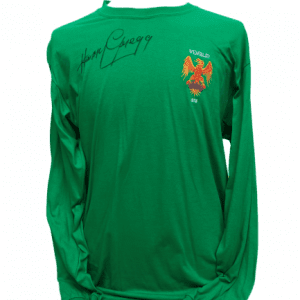 Harry Gregg Signed 1958 FA Cup Final Retro Shirt