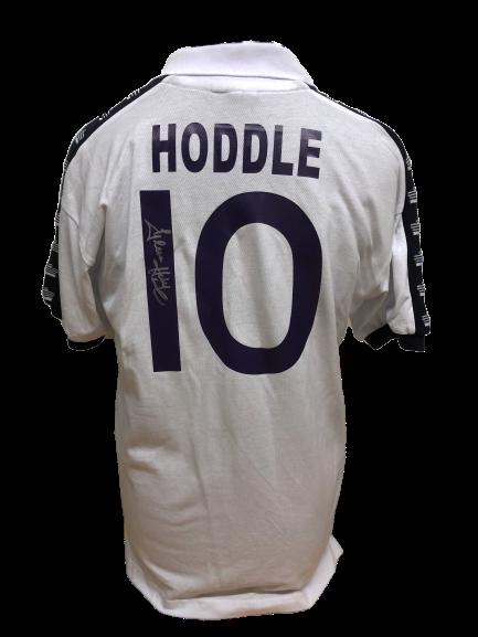 release date 1d81b 93f06 Glenn Hoddle Signed Tottenham 1978 Shirt