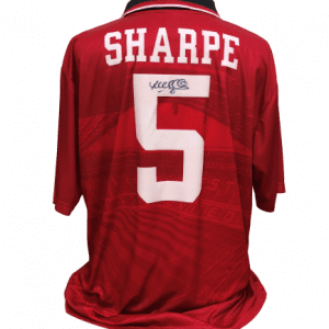 Lee Sharpe Signed Manchester United Shirt