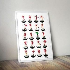 Middlesbrough Subbuteo Print