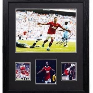 Nani Signed Manchester United Photo
