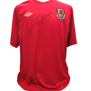 Ryan Giggs Signed Wales Shirt