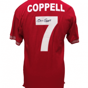 Steve Coppell Signed Manchester United Shirt