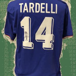 Marco Tardelli Signed Italy 1982 Shirt