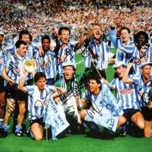 1987 Coventry City FA Cup Final Signed Photo