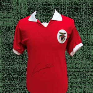 Eusebio Signed Benfica Shirt