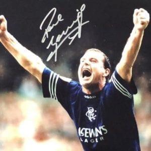 "Paul ""Gazza"" Gascoigne Signed Photo"