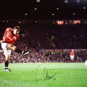 Andrei Kanchelskis Signed Manchester United Photo