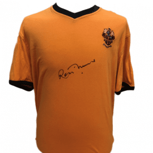 Ron Flowers Signed Wolves Shirt