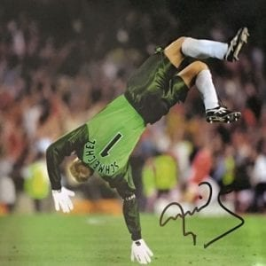 Peter Schmeichel Signed 1999 Photo