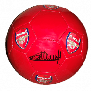 Thierry Henry Signed Arsenal Football