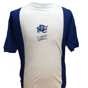 Trevor Francis Signed Birmingham City Shirt