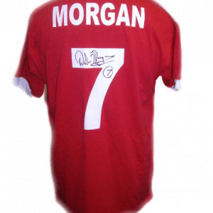 Willie Morgan Signed Manchester United Shirt