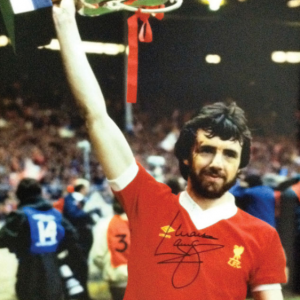 Mark Lawrenson Signed Liverpool Photo