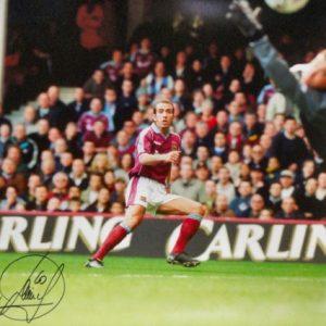 """Paolo Di Canio Signed """"Goal of the Season"""" Photo"""