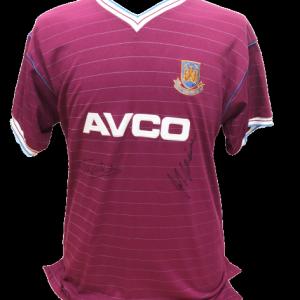 Cottee & McAvennie 1986 West Ham United Signed Shirt