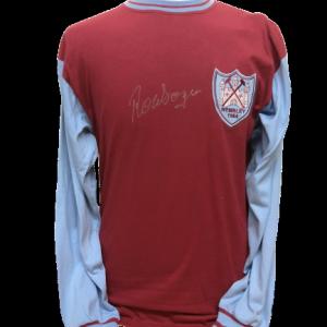 Ronnie Boyce Signed West Ham United 1964 FA Cup Final Shirt