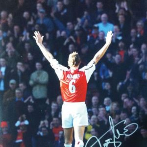 Tony Adams Signed Arsenal Photo