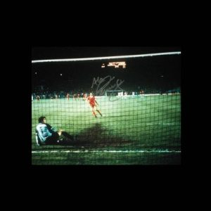 Alan Kennedy Signed Liverpool 1984 European Cup Final Photo