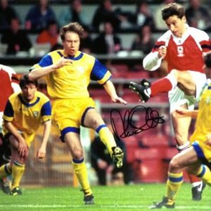 Alan Smith Signed 16×12 Photo