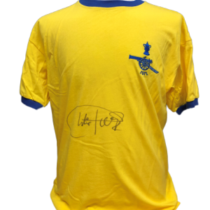 Charlie George Signed Arsenal 1971 FA Cup Final Shirt