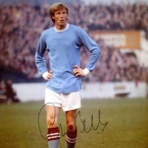 Colin Bell Signed 16×12 Photo