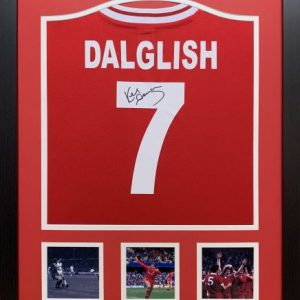 Kenny Dalglish Signed Liverpool 1982 Shirt