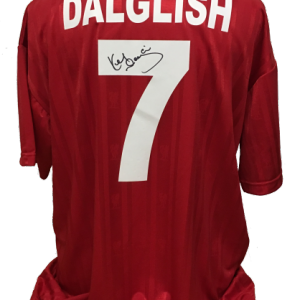 Kenny Dalglish Signed Liverpool 1987 Shirt