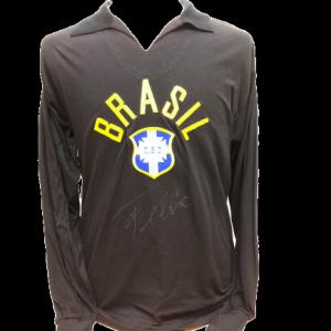 Felix Signed Brazil 1970 Goalkeeper Shirt