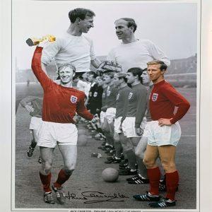 Jack Charlton Signed Photo