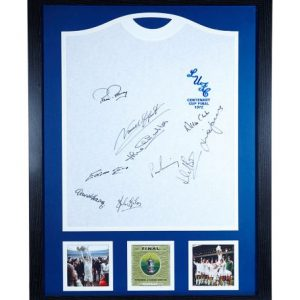 Leeds United 1972 FA Cup Final Shirt Signed by 9