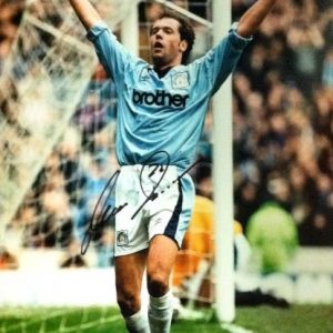 Uwe Rosler Signed 16×12 Photo