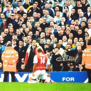 Thierry Henry Signed Arsenal Photo