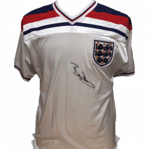 Bryan Robson Signed England Shirt