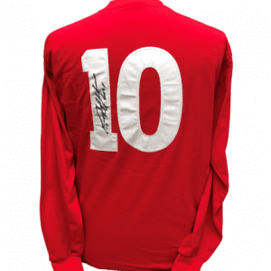 Sir Geoff Hurst Signed 1966 England World Cup 10 Shirt