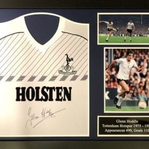 Glenn Hoddle Signed Tottenham 1986 Shirt