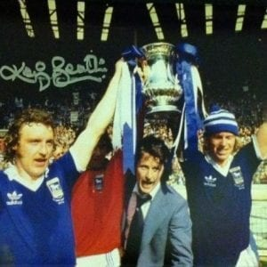 Kevin Beattie Signed Photo
