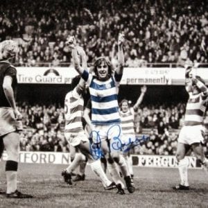 Stan Bowles Signed QPR Photo