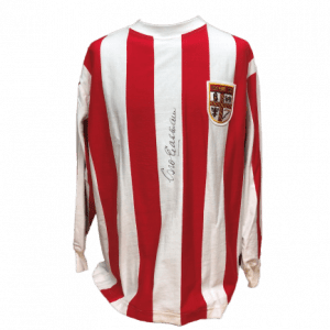 George Eastham Signed Stoke City Shirt