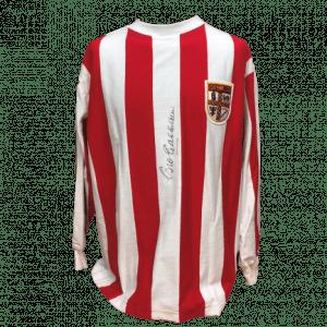 George Eastham Signed Stoke City Shirt