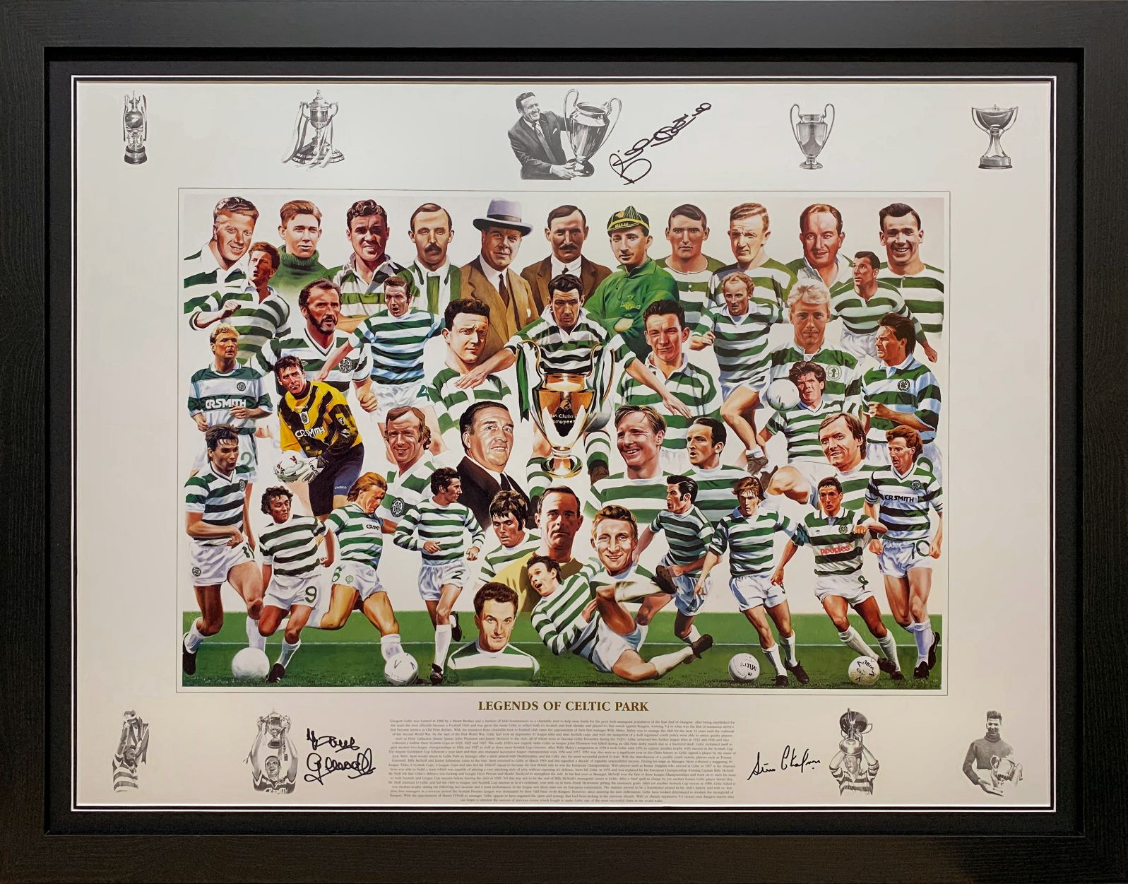 Celtic Legends Art Print Signed by 3